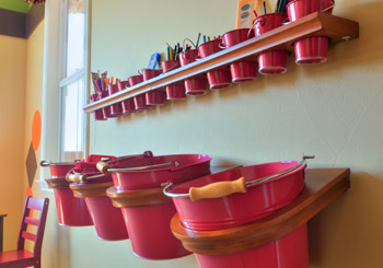 organized buckets