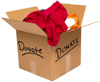 organize and donate