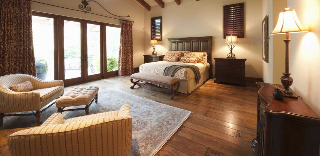 ... Organized Bedroom ...